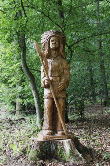Indianerhäuptling aus Uersfeld